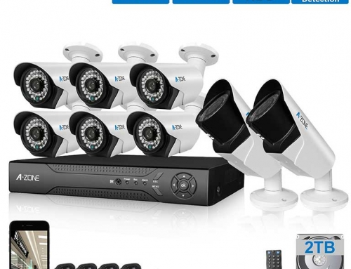 8 Channel 1080P CCTV Security Camera System by A-ZONE