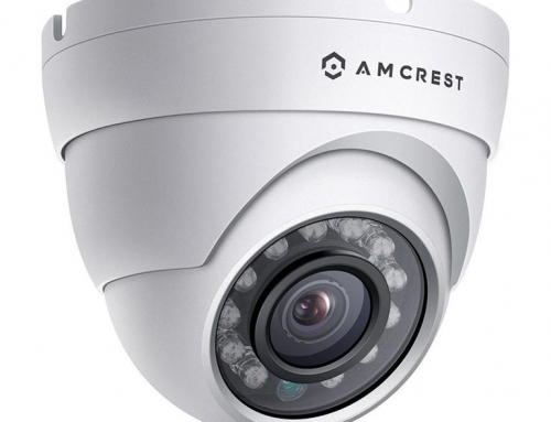 IP67 – Outdoor Dome IP Camera with POE and 1080P HD Video by Amcrest