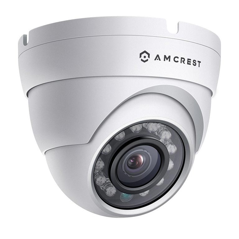 Amcrest ProHD Outdoor 1080P POE Dome IP Security Camera - IP67