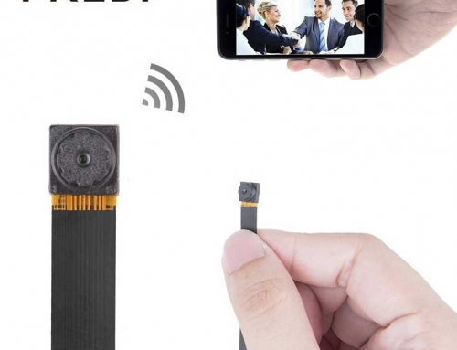 HD SPYCAM – hidden spy camera by FREDI is a world's smallest