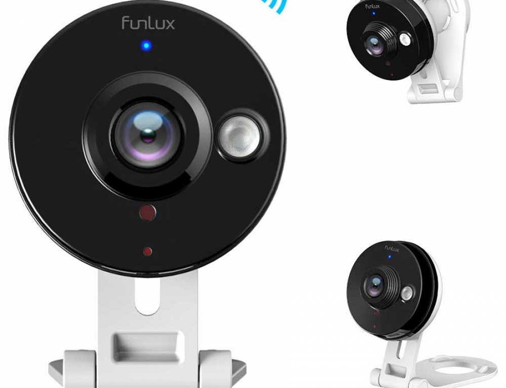 Mini WiFi 720P HD Wireless IP Surveillance Camera by Funlux