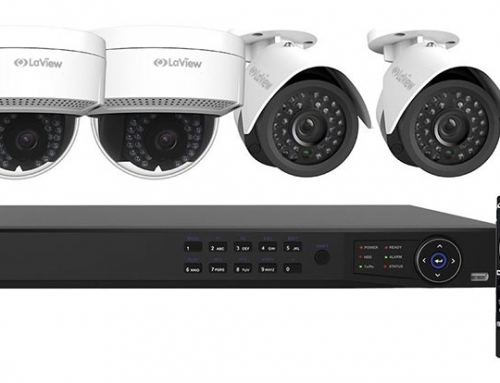LaView 8 Channel / With ONLY 4X 1080P IP Camera Security System